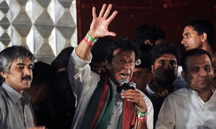 PTI Chief Imran Khan Dares Govt to Arrest Him