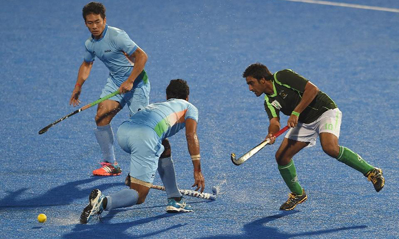 India, Pakistan building toward Champions Trophy