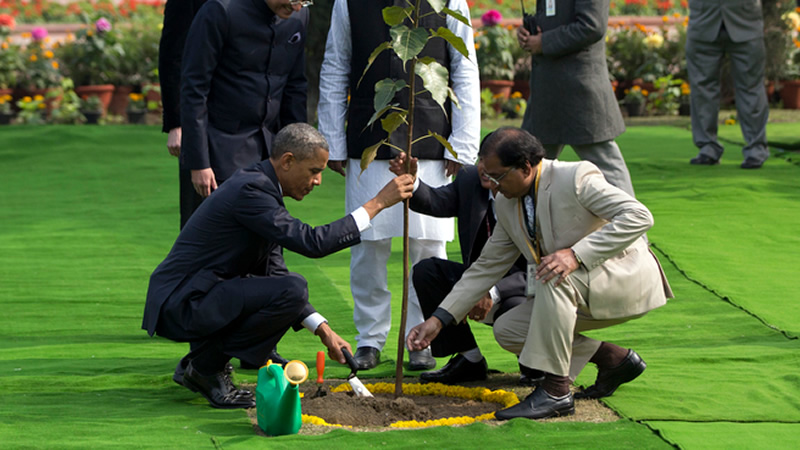 India insists Obama'