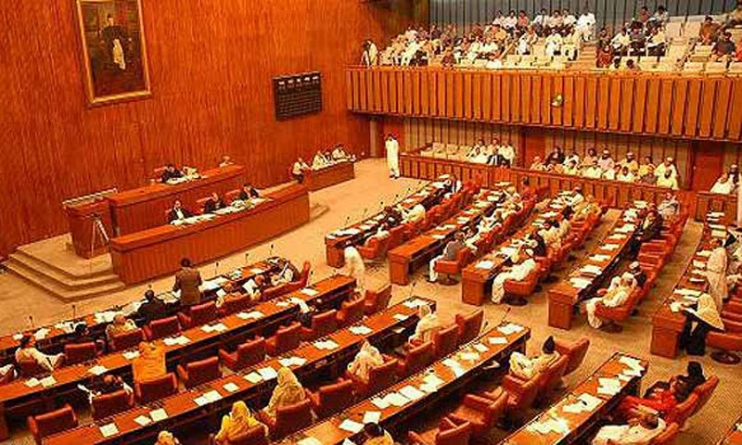 Ishaq Dar Administers Oath to Newly Elected Senators