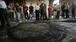 West Bank Mosque Burned in Suspected Settler Attack