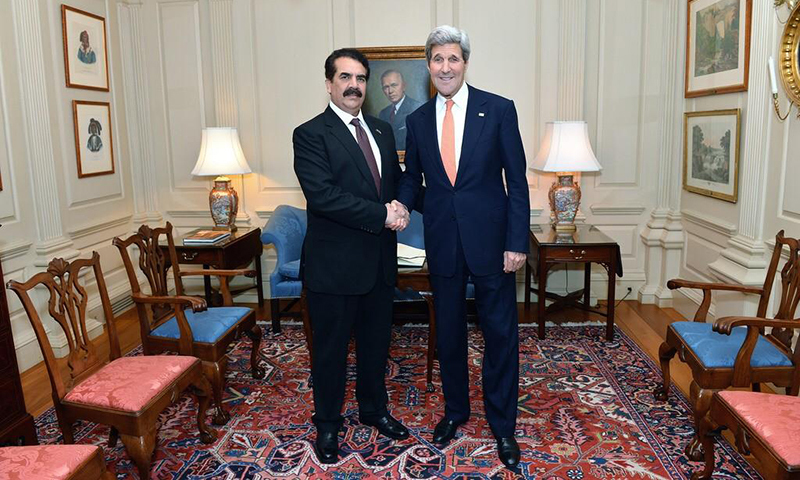 Raheel Sharif and John Kerry