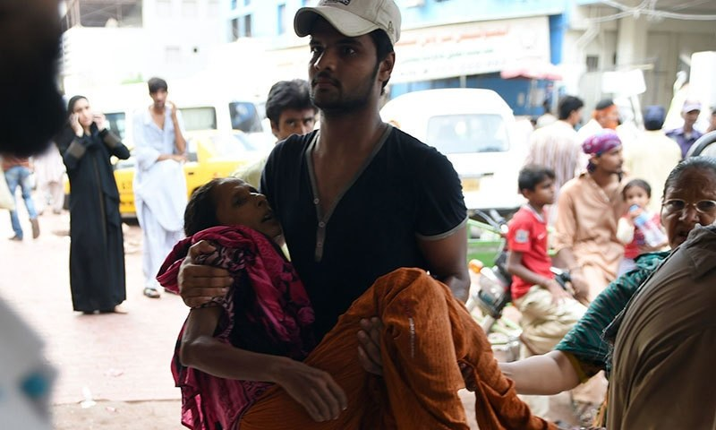 Karachi Heatwave Death