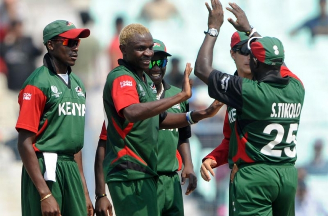 Kenya Cricket Team Arrives in Pakistan