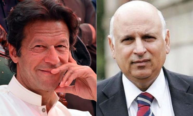 Imran Khan invites Ch Sarwar to join PTI After Meeting