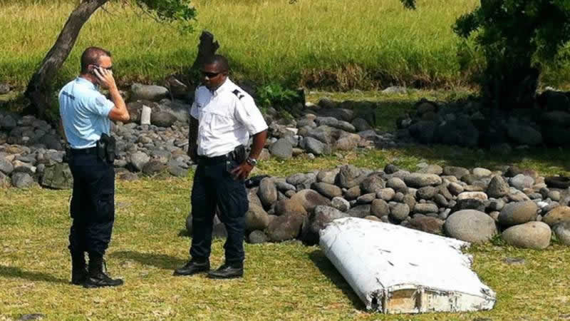 MH370 Wreckage