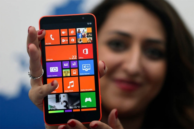 Microsoft Unveils First Lumia Smartphone