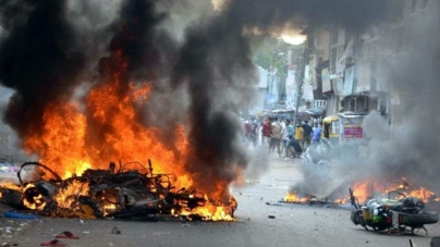 Muslims Burned to Death in India Clash