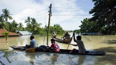 Myanmar Rescuers Race to Flood Zones, 46 Dead