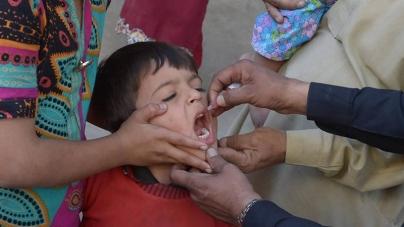 5 Mln Children Administered Anti Polio Drops in Punjab