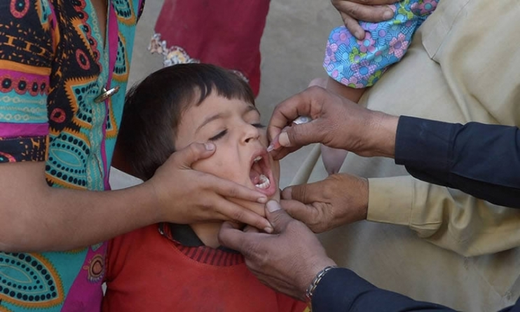 5 Mln Children Administered Anti Polio Drops in Punjab
