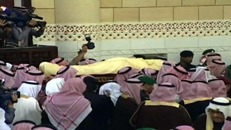 Saudi King funeral