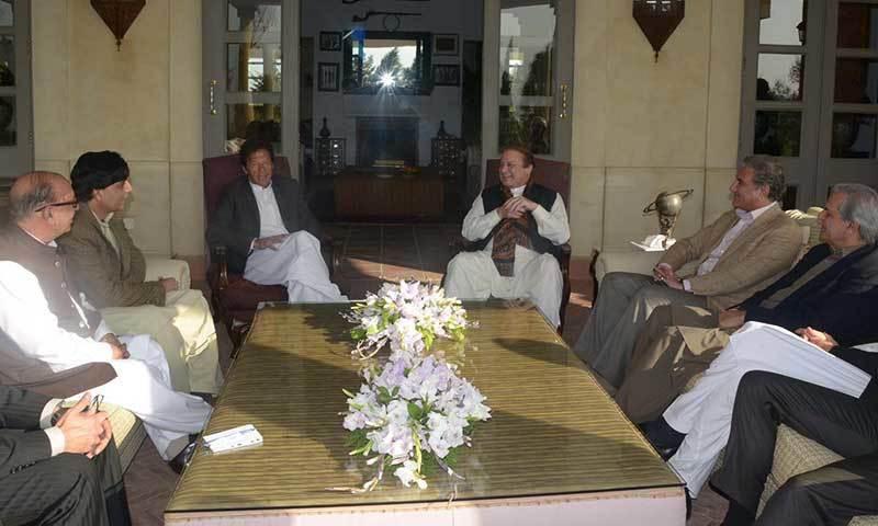 Nawaz Sharif  and Imran khan