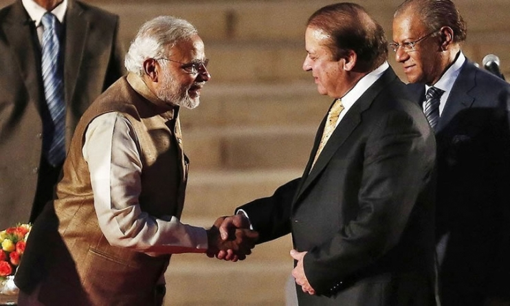 Modi Greeted Nawaz Sharif On Pakistan Day