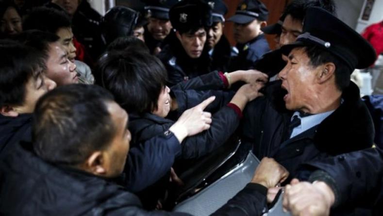 New Year's Stampede Kills 35 in Shanghai