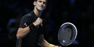 Novak Djokovic Mauls Cilic in ATP Tour Finals Opener