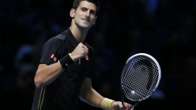 Novak Djokovic Mauls Cilic in ATP Tour Finals Opener