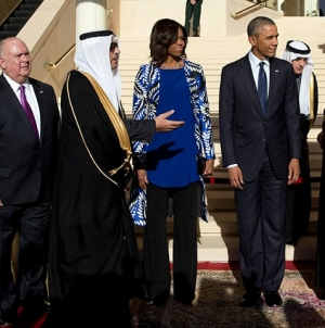 Obama Tackles IS fight, Iran with New Saudi king