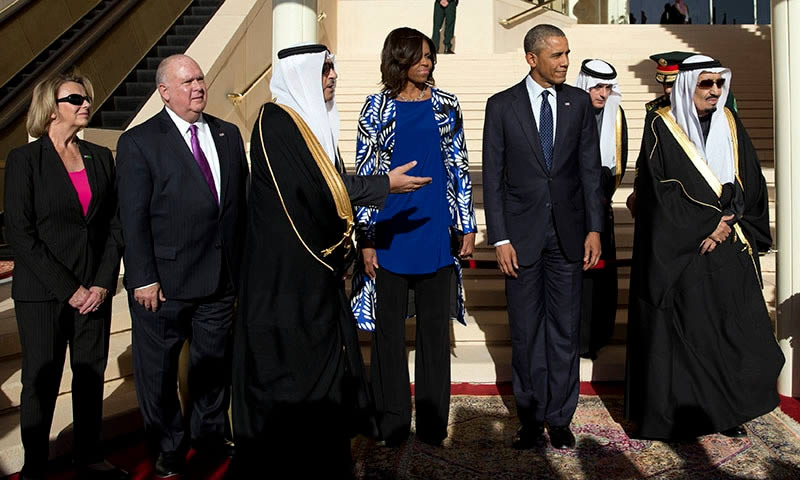Obama and new Saudi king