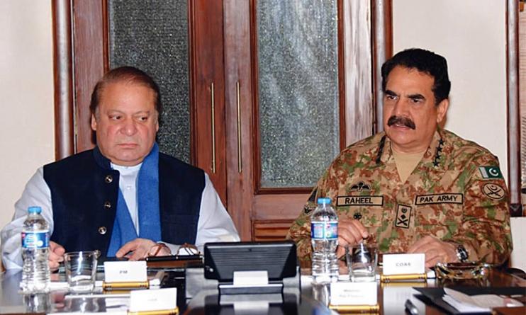PM Nawaz Sharif Army Chief Raheel Sharif to Visit Quetta Today
