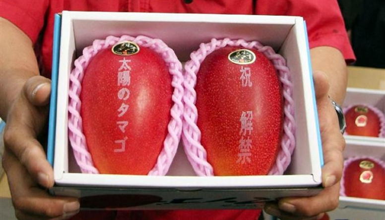 Pair of Japanese Mangoes? Sold to The Man With $2500