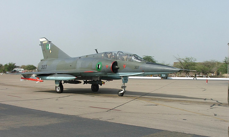 Pakistan Air Force jet