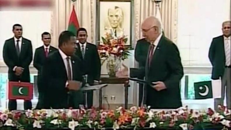 Pakistan and Maldives ink Four MOUs