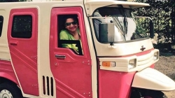 Pakistan Gets First Women Only Auto Rickshaw