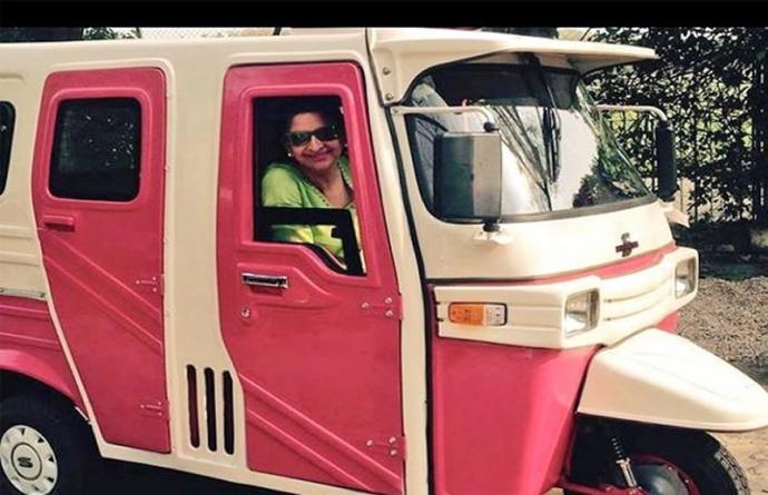 Pakistan Gets First Women Only Auto Rickshaw