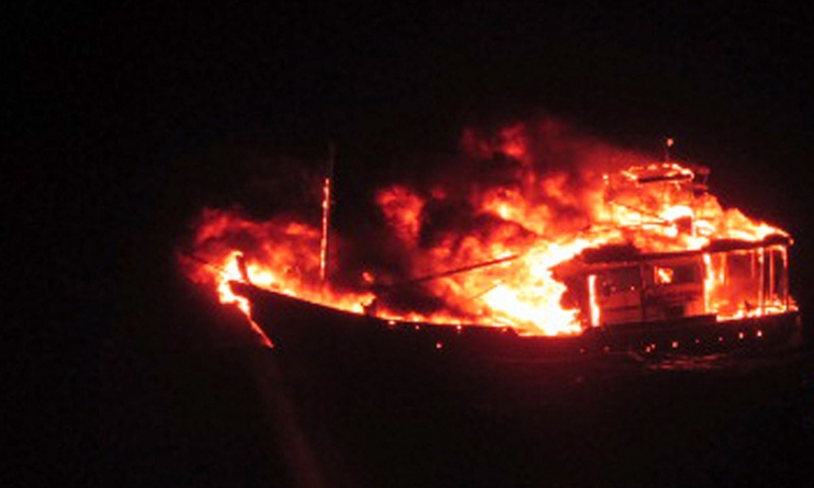 Pakistani Boat Blows Self Up After India Navy chase: Indian Defence Ministry