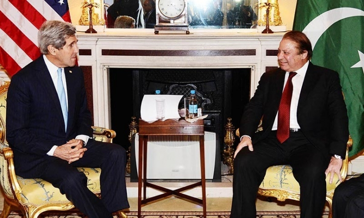 Pakistan's anti-terrorism Efforts Must be Recognised, Nawaz tells Kerry