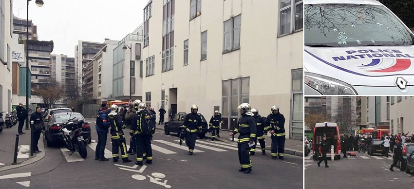 12 Dead in Shooting at Paris Offices of Satirical Magazine