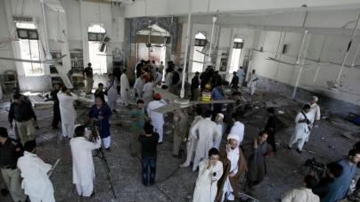 Powerful Blast near an Imambargah in Peshawar