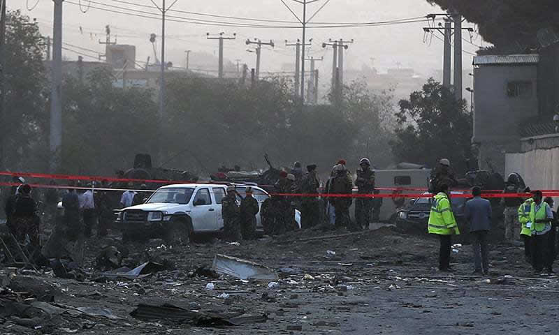 Truck Bomb in Kabul
