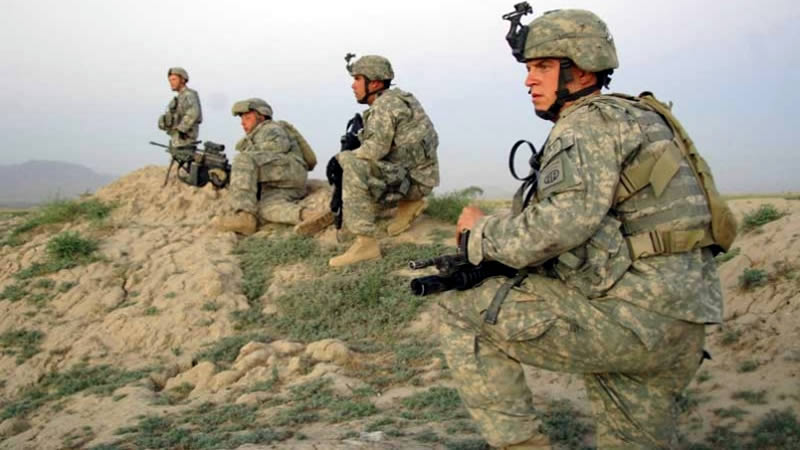 US troops from Afghanistan