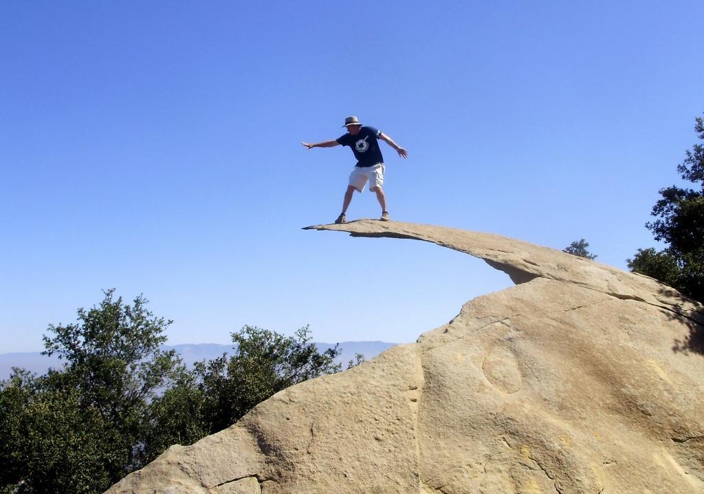 Potato Chip Rock, California