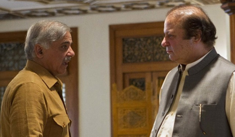 Shahbaz Sharif and Nawaz Sharif