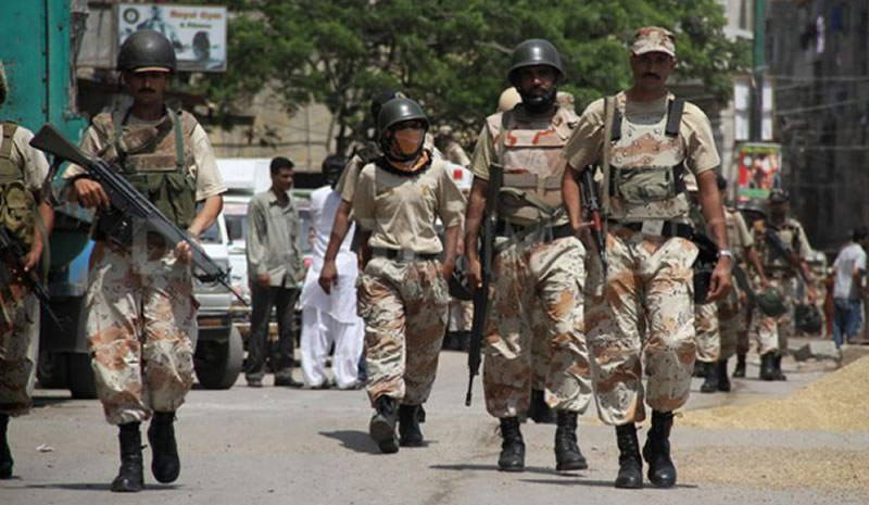 Rangers arrest suspects