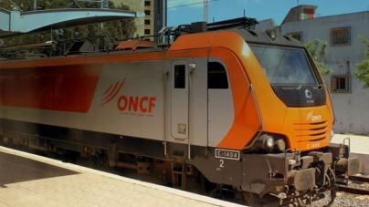 Runaway Train in Morocco as Driver Goes for Coffee