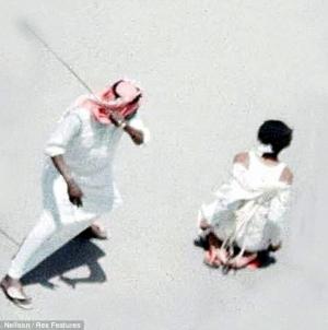 Saudi Beheads Rapist, Murderer