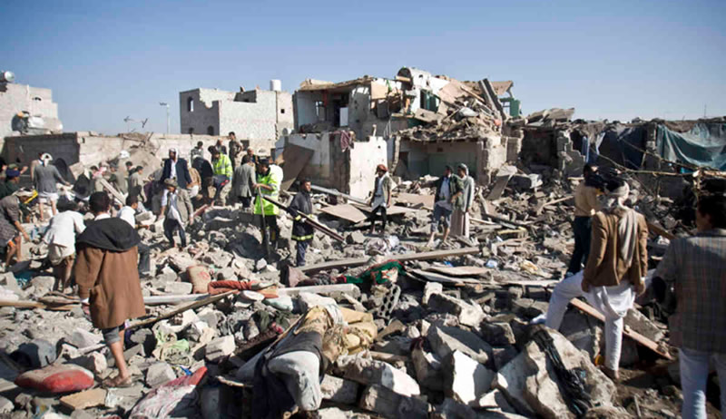 Saudi Strikes in Yemen
