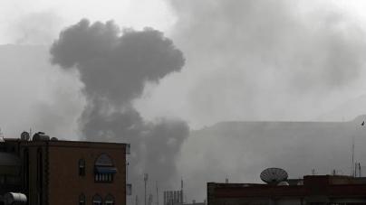 Saudi-led Coalition Batters Yemen with Intense Raids