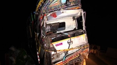 Seven Children Killed as Truck Falls On Jhang House