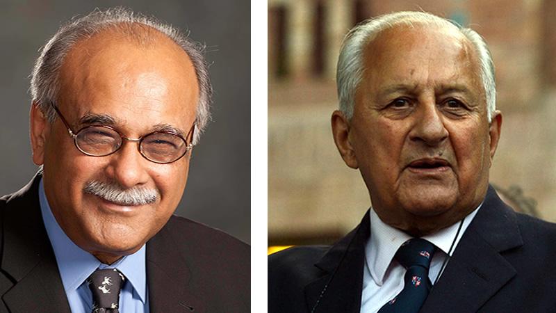Shehryar Khan, Najam Sethi