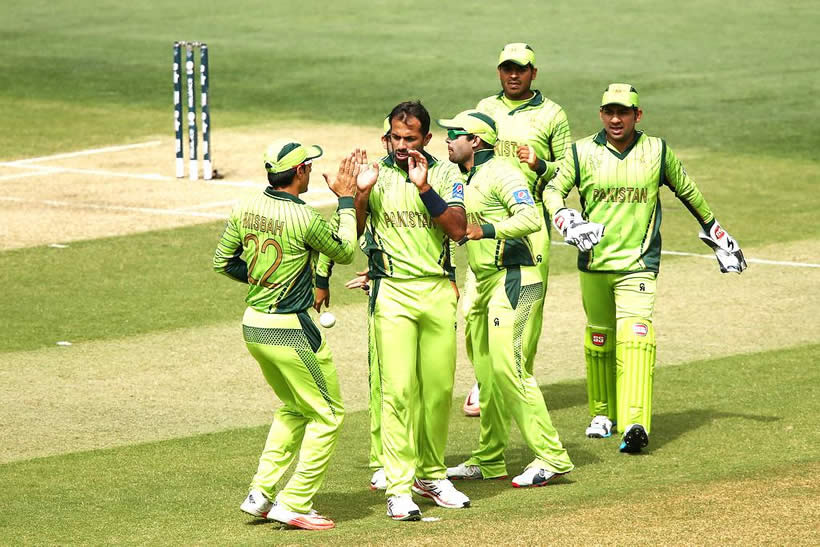 pakistani team world cup 2015