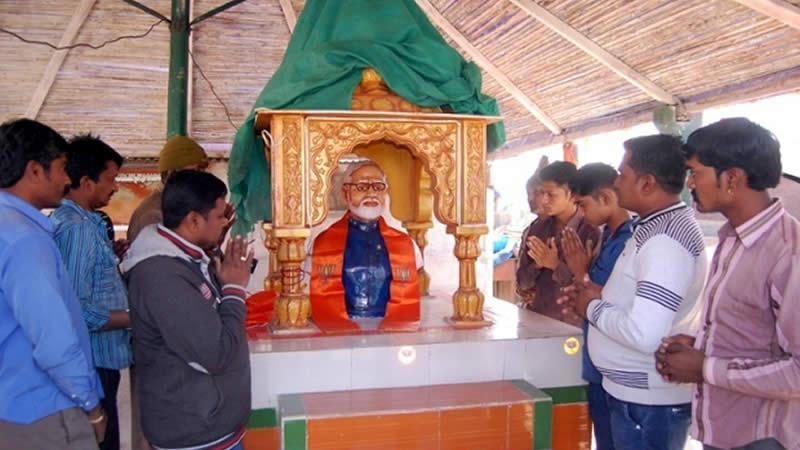 India to worship Modi