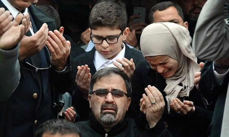 Thousands Attend Funerals of Muslim 'Hate Crime' Victims in US