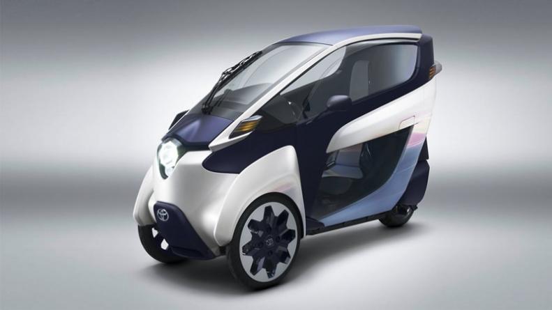 Toyota to Start Electric Three Wheeler