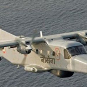 Two Missing after India Navy Plane Crashes into Sea