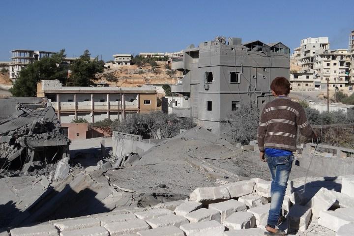 US-led coalition airstrike